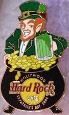 Hard Rock Cafe HOLLYWOOD 2004 St. Patrick's Day PIN Leprechaun & BEER MUG #21771