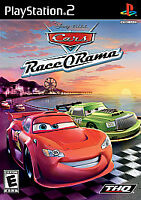 Cars Race O Rama PLAYSTATION 2 (PS2) Sports (Video Game) COMPLETE WITH MANUAL