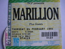 MARILLION - LEEDS 24/2/94 CONCERT TICKET