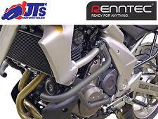 Renntec Negro Motor Crash Protector guardias Barras Kawasaki kle650 Versys 2007 -