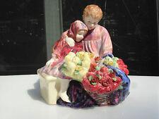 """ROYAL DOULTON -- """"THE FLOWER SELLER'S CHILDREN"""" -- VINTAGE -- RETIRED -- # 1342"""