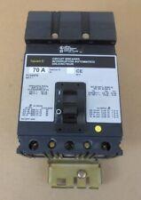 1 Square D Fc Fc34070 Circuit Breaker 70A 70 Amp 3P 3 Pole 480V 480 Volt