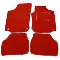 FIAT 500 2007-2012 TAILORED RED CAR FLOOR CARPET MATS
