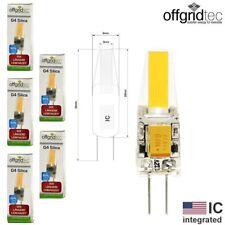 5x offgridtec © g4 DEL silice v4 ultra 2 w COB Blanc Chaud 3000k 12 V (États-Unis IC) DC/AC