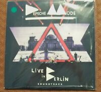 "DEPECHE MODE ""LIVE IN BERLIN 2013 SOUNDTRACK"" DOUBLE COLOURED LP GREEN STICKER"