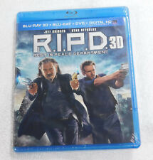 R.I.P.D. Rest in Peace Department 3D Blu-Ray NEW Jeff Bridges Ryan Reynolds RIPD