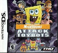 Nicktoons: Attack Of The Toybots - 2007 THQ - Nintendo DS NDS