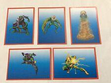 5 FIGURINE ADESIVE SPIDER-SENSE NEMICI SPIDER-MAN  PANINI MARVEL lot 54