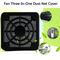 Computer Fan Dust Filter Guard Grill Protector Dustproof Cover PC Cleaning Ca Fy