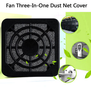 Computer Fan Dust Filter Guard Grill Protector Dustproof Cover PC Cleaning^BI