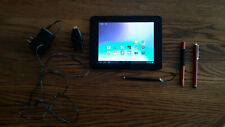 Coby Mid8065 Drawing Tablet, Hdmi Adapter, and three Stylus Bundle