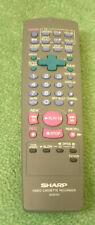 Genuine Original Sharp G0247AJ VCR Remote Control Unit - Brand New