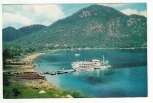 A Visit Rhodesia and Nyasaland Post Card of Monkey Bay, Lake Nyasa. Nyasaland.