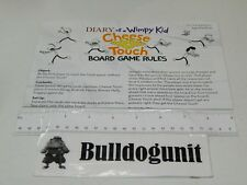 2010 Diary of a Wimpy Kid Cheese Touch Board Game Instructions Only