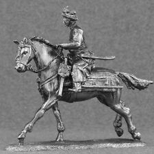 Knight  1/32 Medieval Toy Soldiers Metal Cavalry Cossack Equestrian 54mm