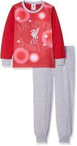 FC LIVERPOOL Junior Boys Kids Pyjamas 2PCS SET SLEEPWEAR Nightwear LongSleeve