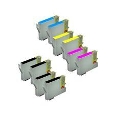 10 Tintas Compatible no original para Epson T0551 T0552 T0553 T0554 T0556
