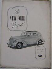 FORD dix préfet 1938 ORIGINAL UK publicité supplément de la ford fois