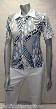 T-shirt blanc gris bleu Taille 36 pour FEMME haut top zip sport BAISERS SALES