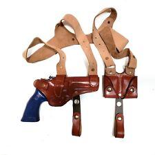 Shoulder Leather Holster For SW 686