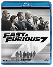 FAST AND FURIOUS 7   BLU RAY   BLUE-RAY AZIONE