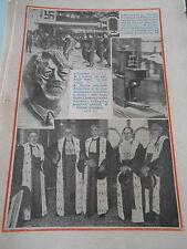 Fête des Travailleurs à Potsdam Clef monumentale Machine coudre Thimonnier 1933