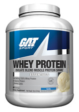 GAT Whey Isolate Blend Muscle Protein Shake 25g 5 lbs, 68Srv Compare to ISO-100