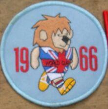 World Cup Willie 1966 Inglaterra Parche Redondo (Azul Claro)