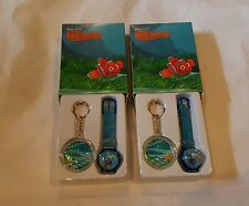 Lot Of 10 Finding Nemo Watches & Keychains  Disney Pixar