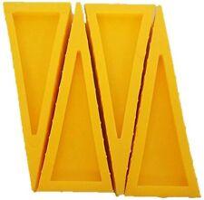 LINE2design Door Stopper Rubber Door Stop Wedge Door Open Sprinkler Wedge - 4PK