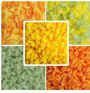 Cake Decorations Fruit Jelly Slices Segments Cupcake Toppers Edible 50g