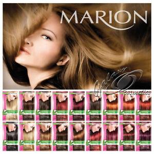 Marion Temporary Hair Colour Shampoo Dye Sachet Lasts 4-8 washes with Keratin
