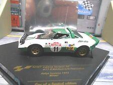 LANCIA Stratos HF Rallye San Remo Winner 1975 #11 Waldegard Alital Vitesse 1:43