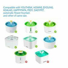Cat Dog Water Fountain Filter Replacement Flower Filters Drinker Dispenser 8Pcs