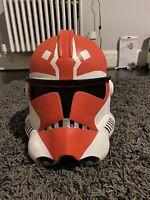 Star Wars Clone Trooper Helmet, 332nd Helmet, Clone Wars Helmet, Ahsoka Helmet
