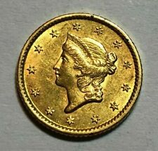 1853 Us G$1 Liberty Head Gold One Dollar Coin, in Jewellery Condition