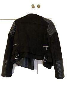 Ivory & Chain Black Bessie Jacket