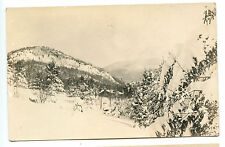 Vintage Real Photo Post Card-Home In Mtn Notch-Lake Placid Area c.1915-Ex. Cond.