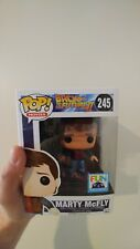 Funko Pop Marty Mcfly W/ Hoverboard Back To The Future II #245 Fun Con Exclusive