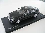 BMW Genuine Model Car 3 Series F30 Sedan Black Sapphire Scale 1:18 80432212865