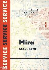VEB STELLA SOLE radio montagna radio mira 5640 5670 Officina di Assistenza LIBRETTO DDR 1967