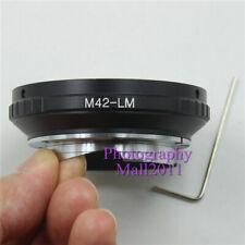 New M42 to LM Adapter for M42 Lens to Leica M M8 M7 M6 M5 M9 TECHART LM-EA7