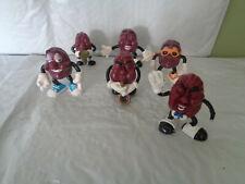 Lot of (5) 1987 California Raisins Figurines