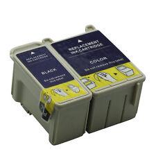 1 Paire Epson 440 480 580 670 C20 C40 C40UX Compatible Cartouches D'encre T050 T052