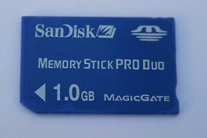 Sandisk Memory Stick PRO Duo 1 GB Memory Stick PRO Duo Memory Card