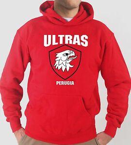 Pull à Capuche KJ1277 Ultras (Supporteurs) Perugia Griffon Courbe Nord