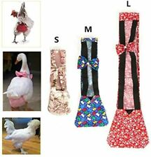 3 Size Chicken Diapers Poultry Duck Goose Hen Adjustable Nappy Farm Cloth Pet
