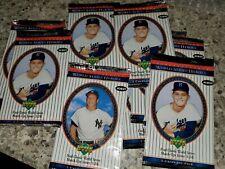 2002 Upper Deck World Series Heroes Baseball Card 10 Pack Box Lot POS AUTO+BONUS