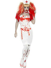 Smiffy's Women's Blood Drip Nurse Adult Zombie Costume Small 6-8