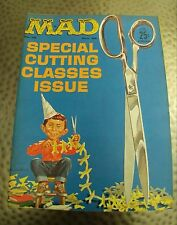 Vintage Mad Magazine #75 Dec. 1962, Cutting Class Cover by N. Mingo, VF+